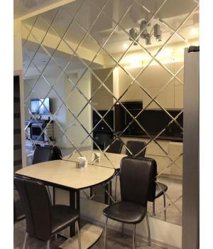 Зеркальное панно на кухню