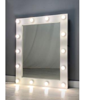 Гримерное зеркало с подсветкой 100х80 см 14 ламп