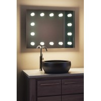 Зеркало в ванную с подсветкой для макияжа Лея