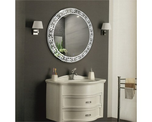 Сенсорное зеркало в ванную с подсветкой Техас