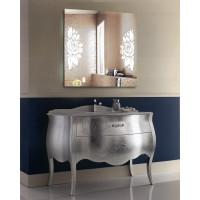 LED подсветка в зеркале для ванной София 70x70 см