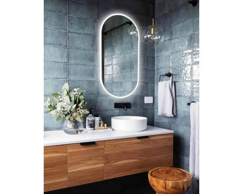 Зеркало в ванную с LED подсветкой Натали