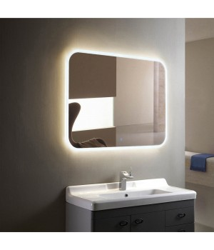 Зеркало в ванную с внутренней подсветкой Нора